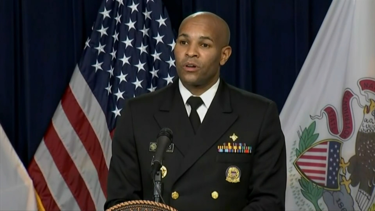 Covid 19 Illinois Us Surgeon General Jerome Adams Visits Chicago As Moderna Vaccine Rollout Plan Continues Abc7 Chicago