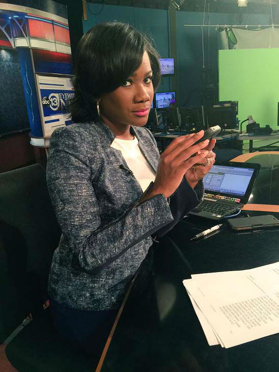"""<div class=""""meta image-caption""""><div class=""""origin-logo origin-image none""""><span>none</span></div><span class=""""caption-text"""">Chauncy snapped this candid photo of Samica (KTRK Photo)</span></div>"""