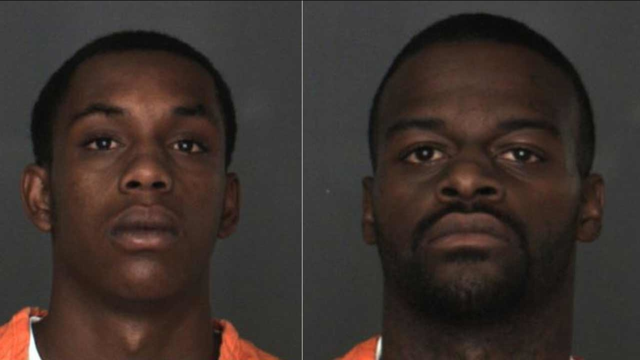 Darron Daniels, 20, of Moreno Valley and Maurice Kelly, 25, of San Bernardino were charged with one count of murder and two counts of attempted murder in the death of Daniel Munoz.