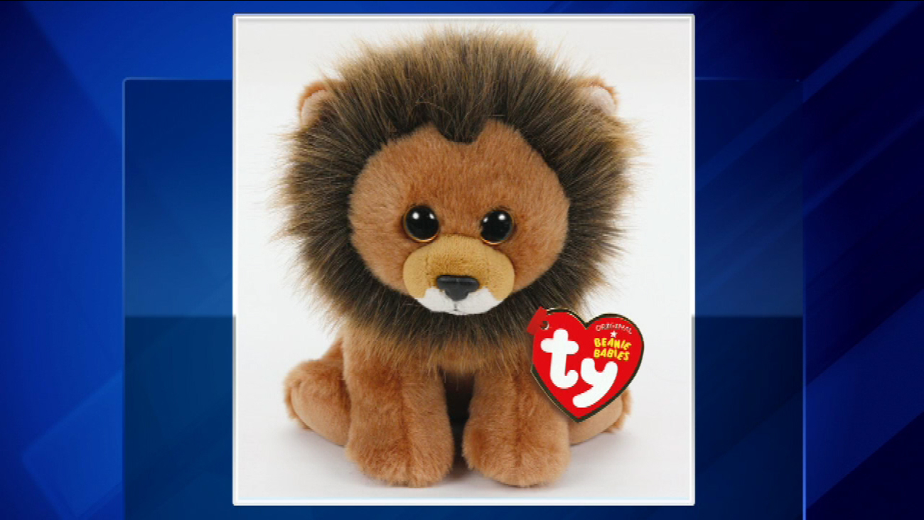 cecil the lion beanie baby