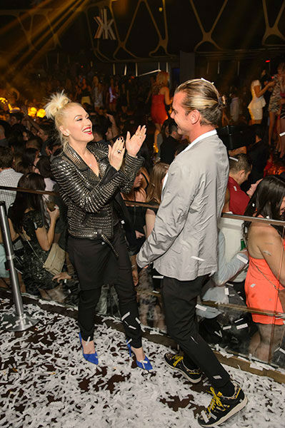 "<div class=""meta image-caption""><div class=""origin-logo origin-image none""><span>none</span></div><span class=""caption-text"">Hakkasan Las Vegas celebrates their one year anniversary with Gwen Stefani and Gavin Rossdale on April 26, 2014, Las Vegas, NV (Photo by Al Powers/Powers Imagery/Invision/AP)</span></div>"