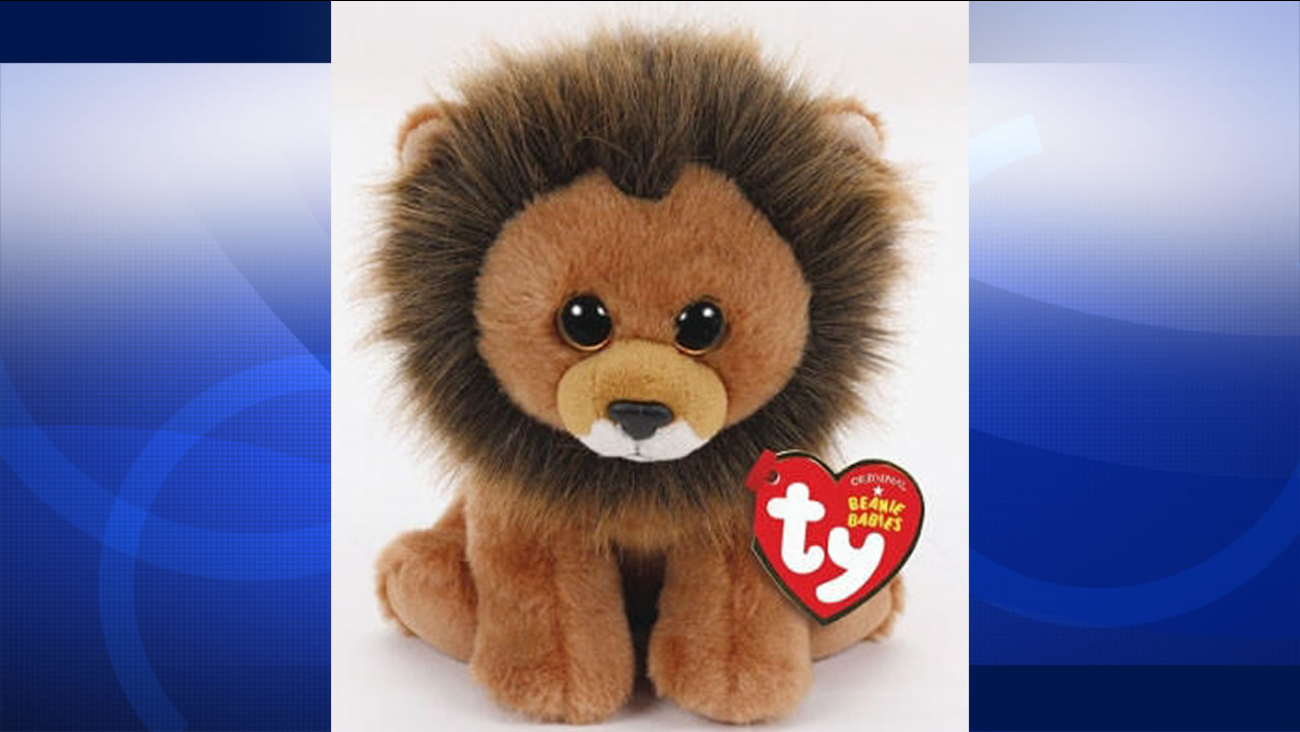 """On Monday, August 3, 2015, Toy-maker Ty Inc. announced all proceeds from the """"Cecil the Lion"""" Beanie Baby will be donated to a wildlife organization."""