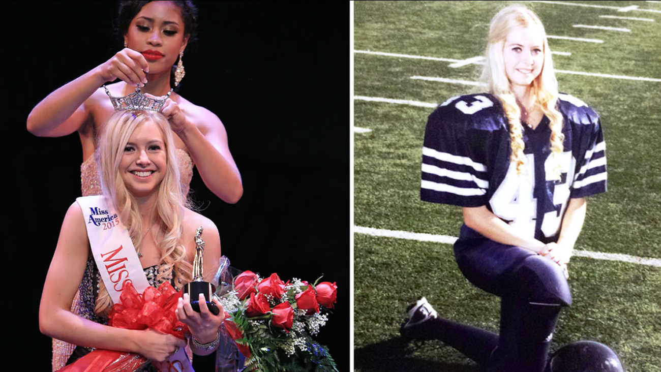 Athena Brattin-Cain, 17, was crowned Miss Sonoma six months ago.