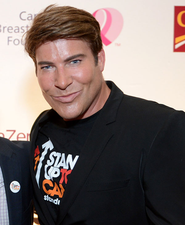 <div class='meta'><div class='origin-logo' data-origin='none'></div><span class='caption-text' data-credit='AP'>Chris Hyndman, co-host of the lifestyle show &#34;Steven and Chris, died Monday August 3 at age 49.</span></div>
