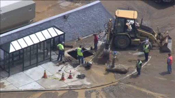 Deptford Mall temporarily closed due to water main break