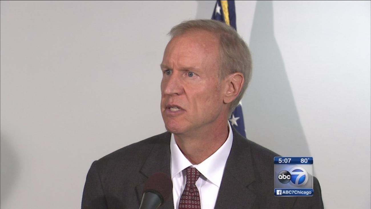 Rauner speaks about budget battle
