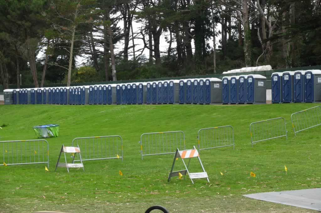"<div class=""meta image-caption""><div class=""origin-logo origin-image none""><span>none</span></div><span class=""caption-text"">Crews set up a line of outhouses for Outside Lands festival-goers in Golden Gate Park on Thursday, August 6, 2015. (KGO-TV)</span></div>"