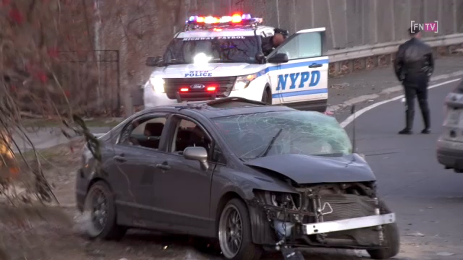 Passenger critically injured in hit-and-run on the Major Deegan Expressway