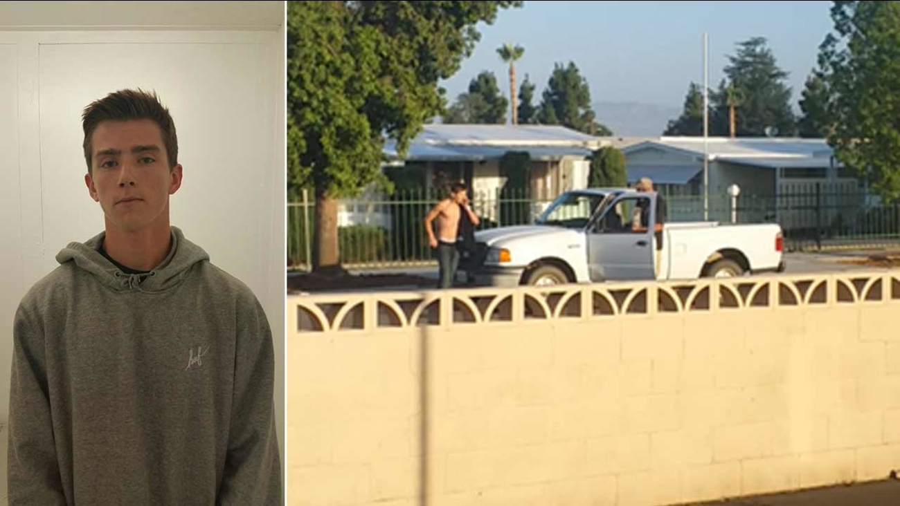 Michael James Williams, 18, was arrested for attempted homicide and conspiracy in a road-rage incident in the 1400 block of S. Gilbert Street in Hemet Friday, July 31, 2015.