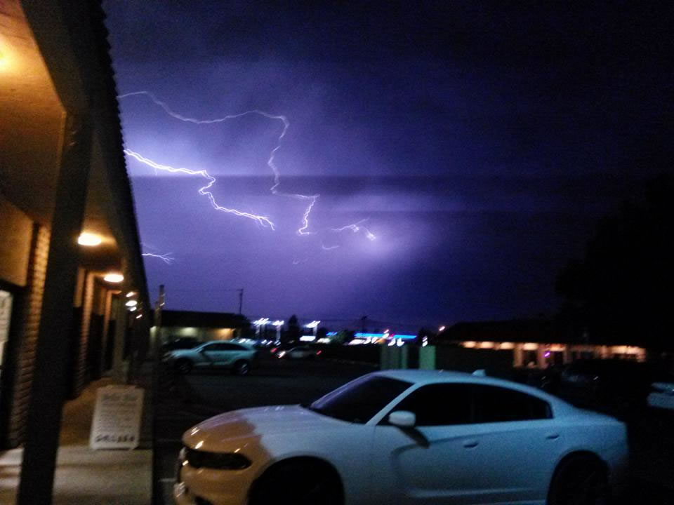 "<div class=""meta image-caption""><div class=""origin-logo origin-image none""><span>none</span></div><span class=""caption-text"">Hundreds of lightning strikes lit up the sky all across the Bay Area on Thursday, August 6, 2015. (Photo submitted to KGO-TV by Victor R/Facebook)</span></div>"
