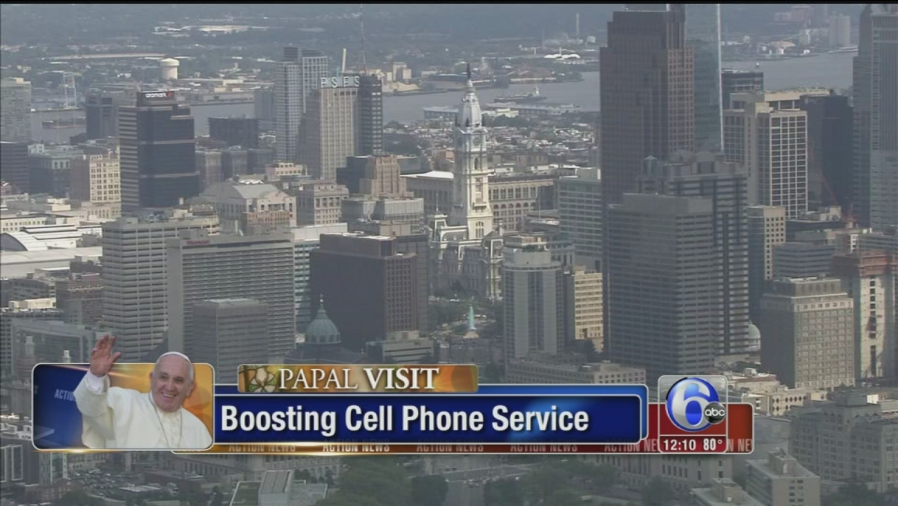 VIDEO: Phone providers boosting service for papal visit