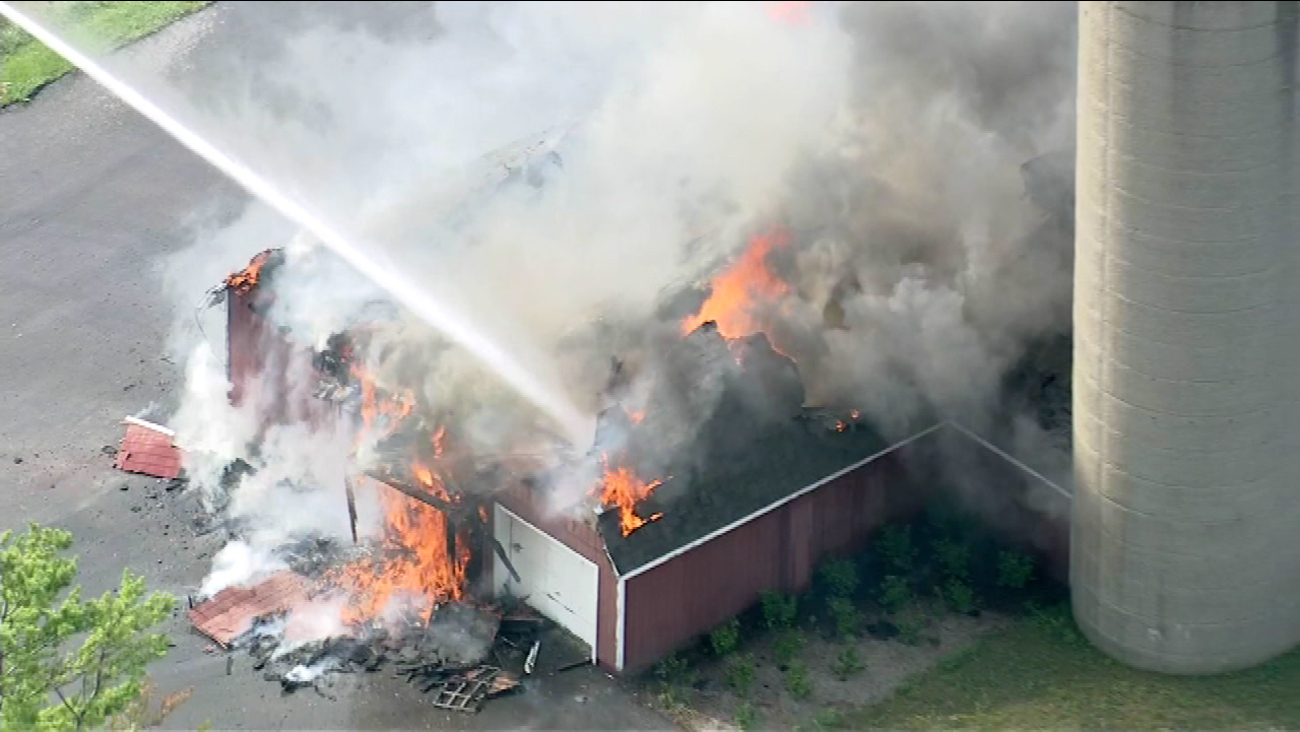governors state barn fire