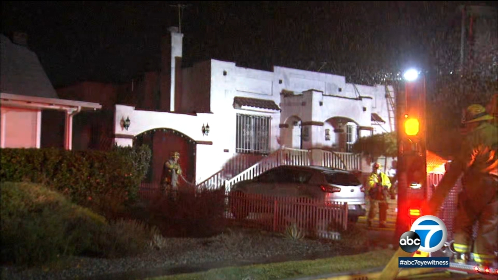 Woman found dead inside Eagle Rock home after firefighters extinguish blaze