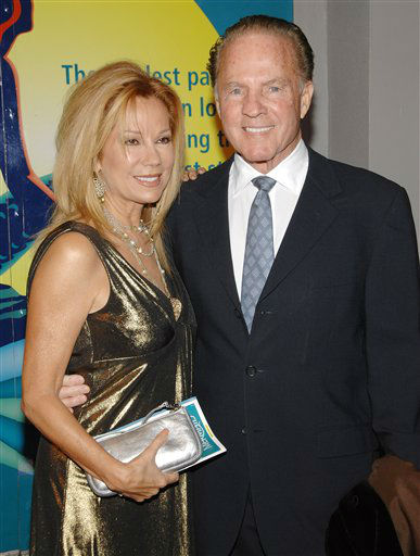 "<div class=""meta image-caption""><div class=""origin-logo origin-image none""><span>none</span></div><span class=""caption-text"">Television personality Kathie Lee Gifford and Frank Gifford attend the Broadway opening of ""The Little Mermaid"" at the Lunt-Fontanne Theater in 2008. (AP Photo/Evan Agostini)</span></div>"
