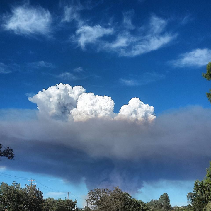 """<div class=""""meta image-caption""""><div class=""""origin-logo origin-image none""""><span>none</span></div><span class=""""caption-text"""">Smoke is seen from the Jerusalem Fire that prompted evacuations in Lake County, Calif. on Sunday, August 9, 2015. (Photo submitted to KGO-TV by Cole E./Facebook)</span></div>"""