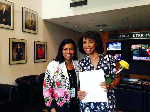 """<div class=""""meta image-caption""""><div class=""""origin-logo origin-image none""""><span>none</span></div><span class=""""caption-text"""">Gina Gaston was chosen to be one of 10 Women on the Move by Texas Executive Women! (KTRK Photo)</span></div>"""