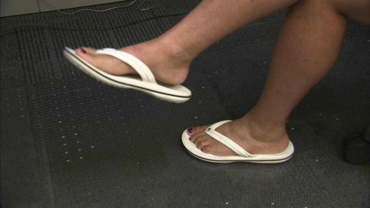 046004fe49a98 Doctors warn of flip flop health hazards