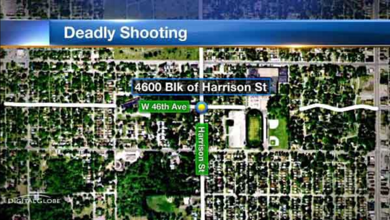 Police said Ray Lewis, 24, was fatally shot in the 4600-block of Harrison Street in Gary, Indiana.