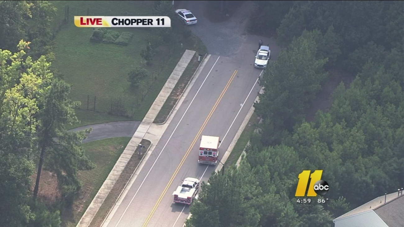 Water rescue reported in Cary