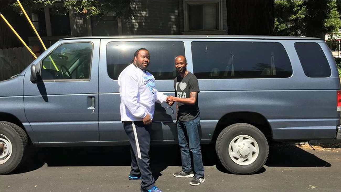 A 1999 blue Ford Econoline was stolen from an Oakland nonprofit group sometime between Friday, August 7, 2015 and Saturday, August 8, 2015.