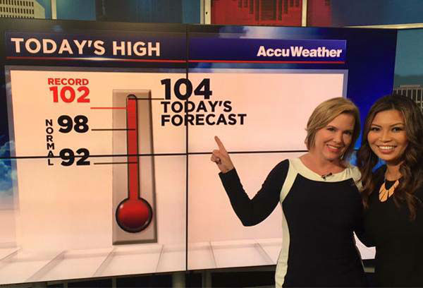 """<div class=""""meta image-caption""""><div class=""""origin-logo origin-image none""""><span>none</span></div><span class=""""caption-text"""">Casey and Elita on a record-breaking weather day (KTRK Photo)</span></div>"""