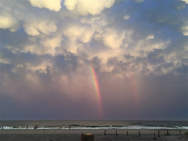 "<div class=""meta image-caption""><div class=""origin-logo origin-image none""><span>none</span></div><span class=""caption-text"">Rainbow over Margate, N.J. after a storm on Tuesday, August 11th (Eric Kelman)</span></div>"
