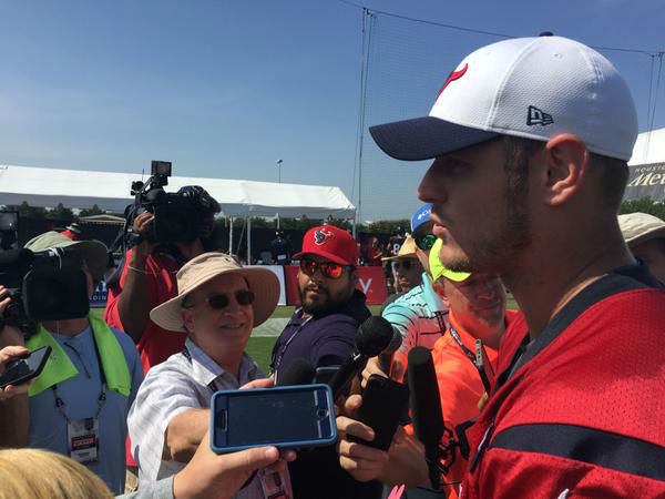 "<div class=""meta image-caption""><div class=""origin-logo origin-image none""><span>none</span></div><span class=""caption-text"">Texans fans turned out for another day of training camp on Tuesday. (KTRK Photo)</span></div>"