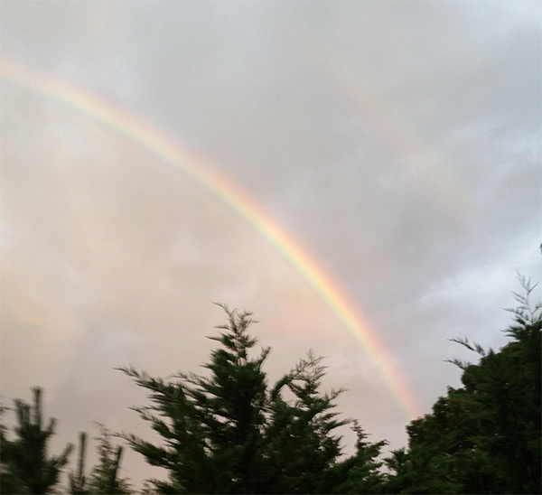 "<div class=""meta image-caption""><div class=""origin-logo origin-image none""><span>none</span></div><span class=""caption-text"">Rainbow over Ocean County after a storm on Tuesday, August 11th (Bill S.)</span></div>"