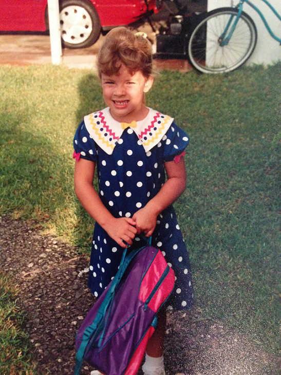 <div class='meta'><div class='origin-logo' data-origin='none'></div><span class='caption-text' data-credit='KTRK Photo'>Kaitlin McCulley when she was a cute kindergartener!</span></div>