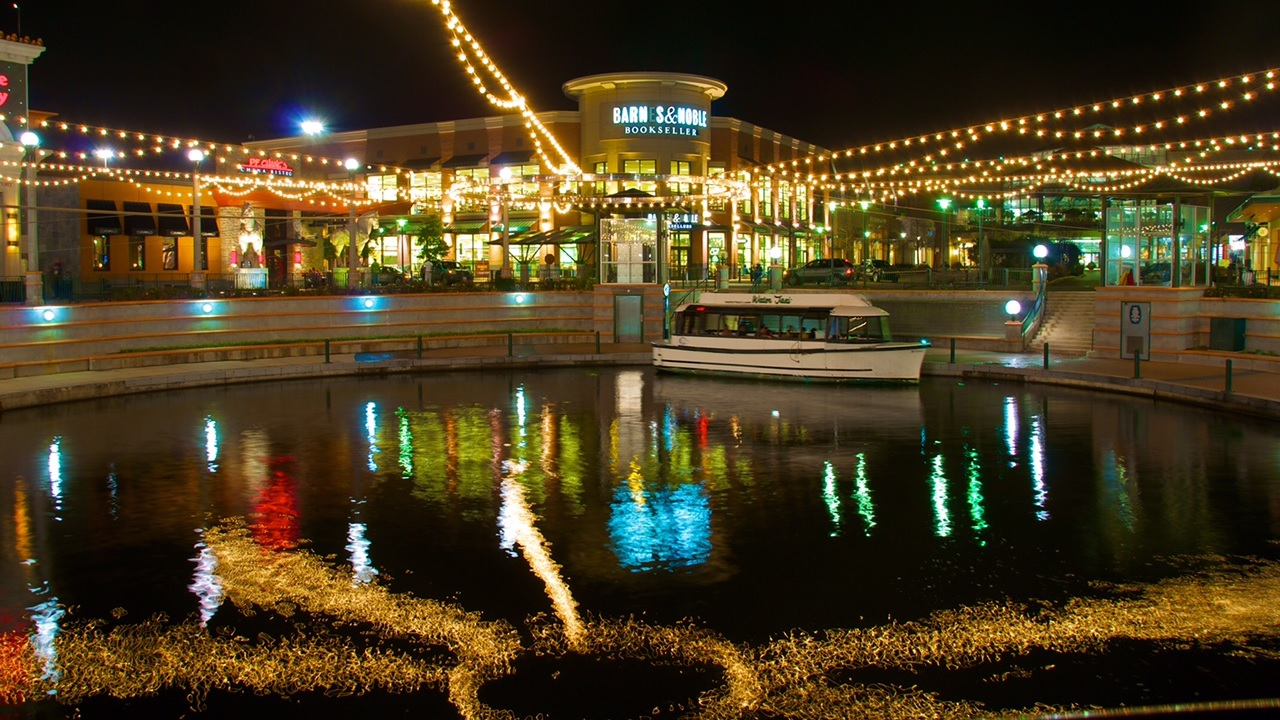 The Waterway in The Woodlands