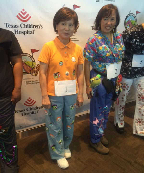 "<div class=""meta image-caption""><div class=""origin-logo origin-image none""><span>none</span></div><span class=""caption-text"">The Bad Pants Open Fashion show was held today.  The event benefits the Newborn Center of Texas Children's Hospital. (KTRK/Casey Curry)</span></div>"
