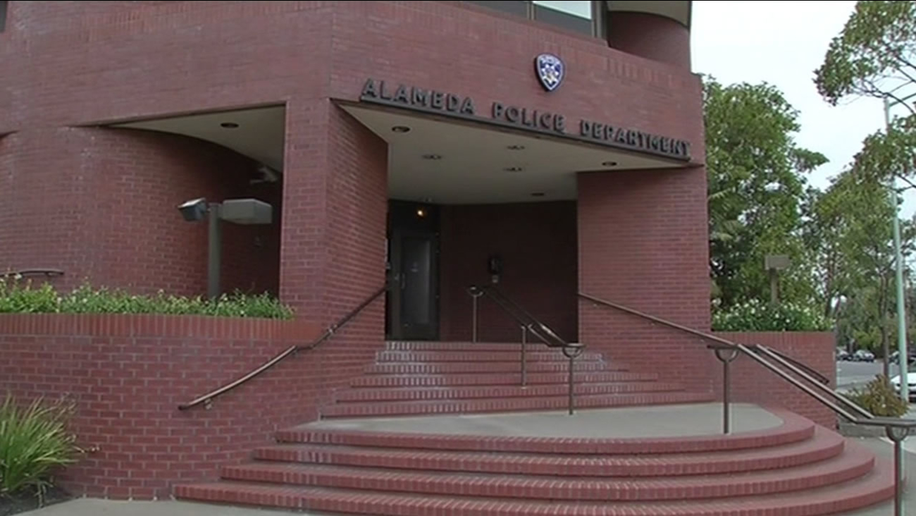 This undated image shows the Alameda Police Department building in Alameda, Calif.