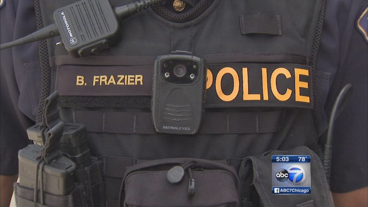 Police body camera guidelines signed into