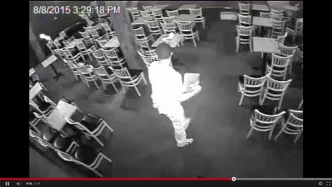 Police are asking for the public's help to identify the man who robbed the Annoyance Theatre in Chicago's Lakeview neighborhood.