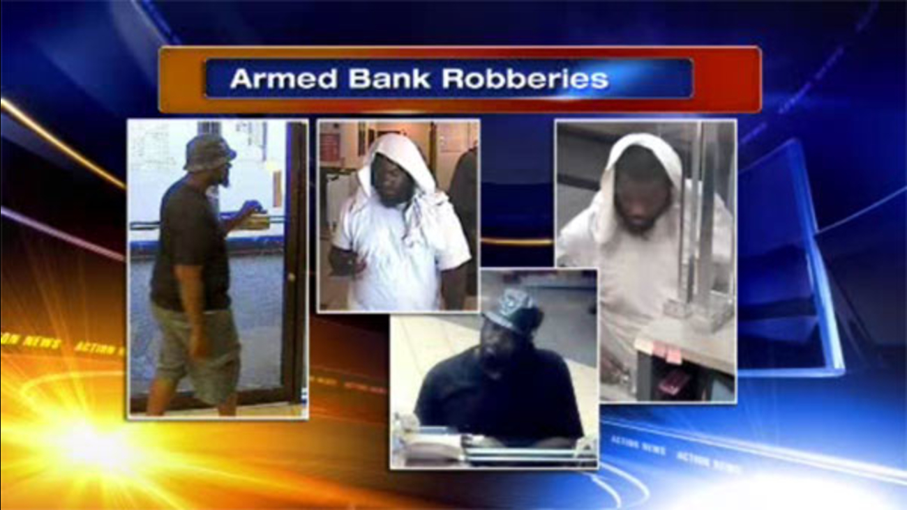 FBI searching for Philadelphia bank robbery suspect