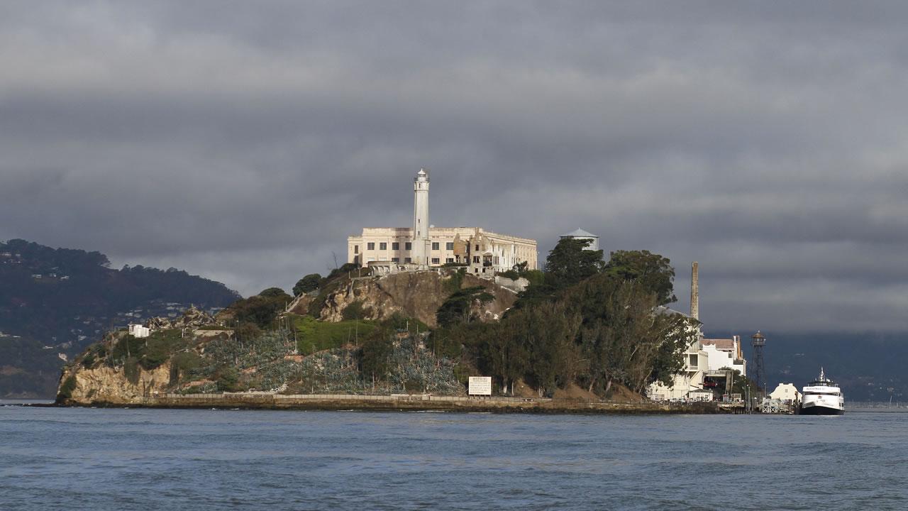 Alcatraz Island is shown Wednesday, Sept. 24, 2014, in San Francisco.