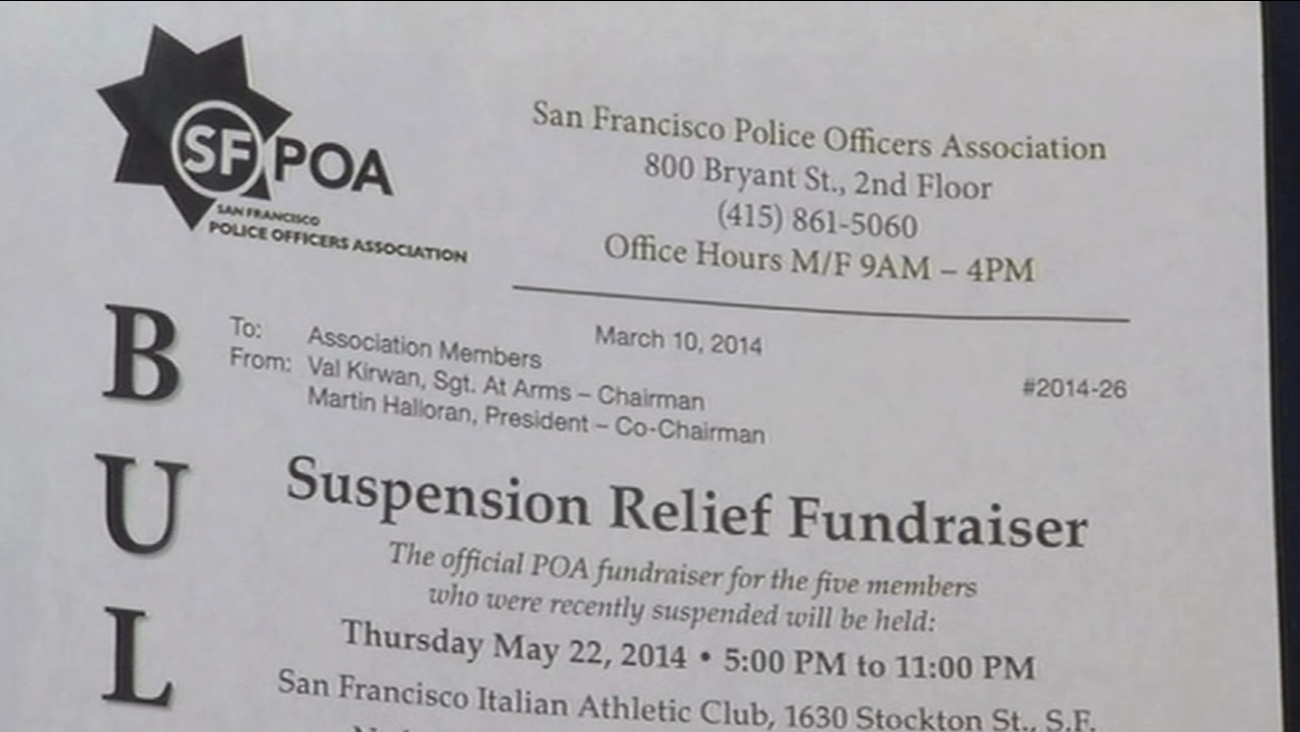 SFPOA holding fundraiser for officers indicted on federal corruption charges
