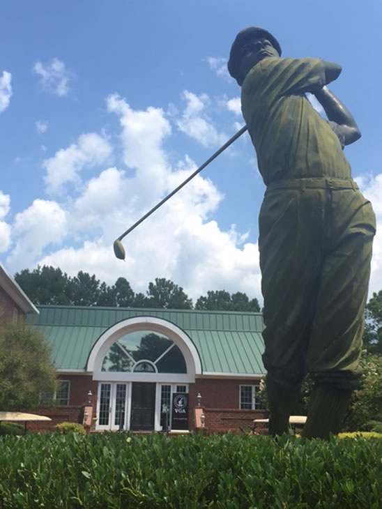 This weekend, Anderson Creek Club will host the VGA's Carolina Qualifiers.