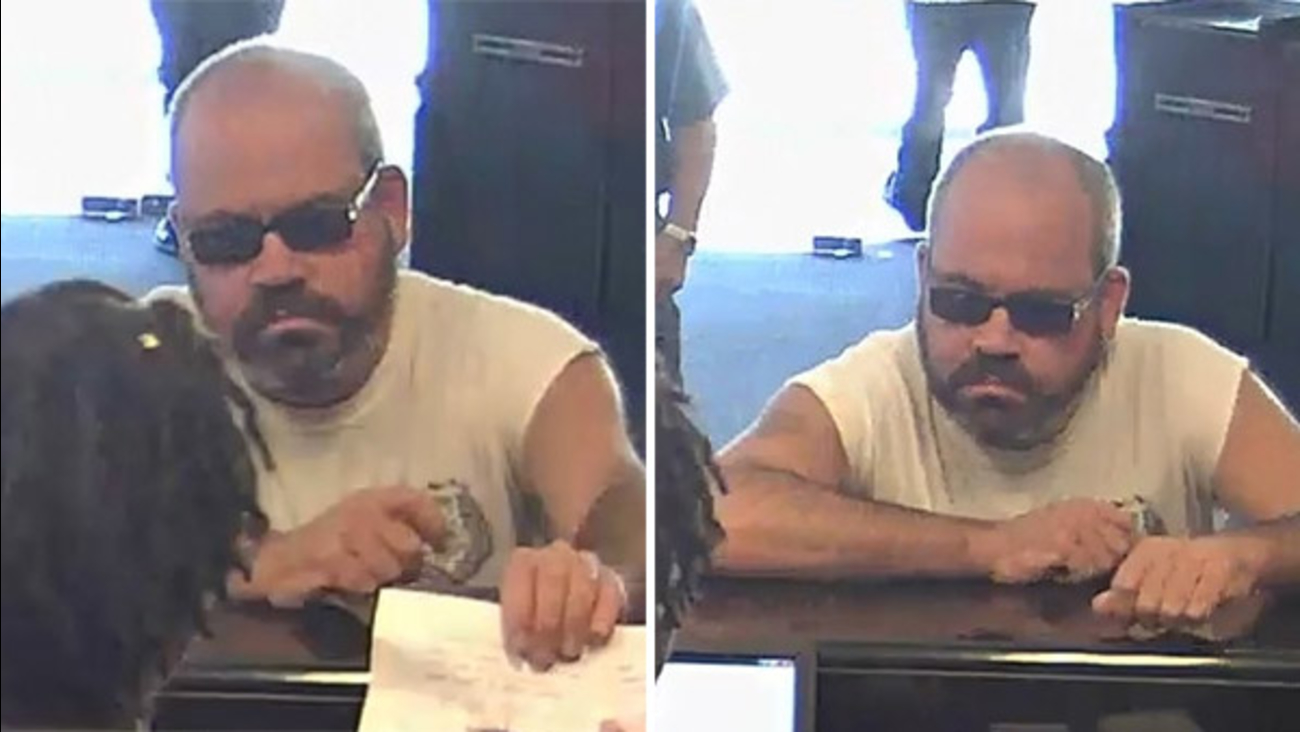 Man wanted in Bellmawr bank robbery