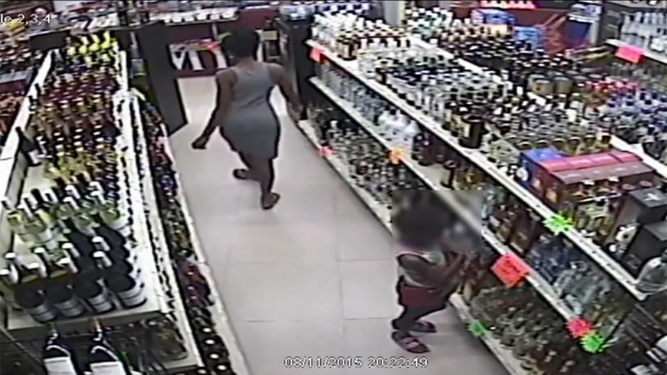 Liquor bottle theft