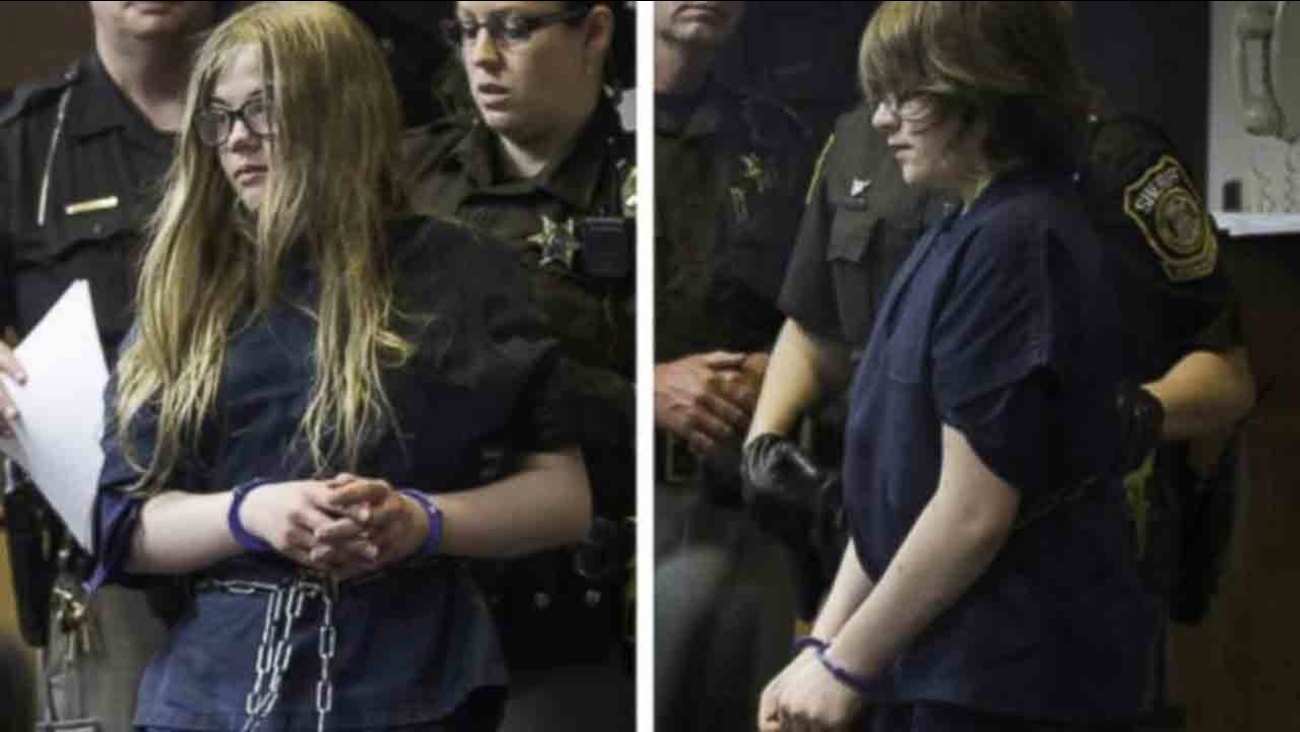 Morgan Geyser and Anissa Weier were both charged with attempted murder after allegedly stabbing another 12-year-old girl 19 times in Waukesha, Wisconsin Saturday, May 31, 2014.
