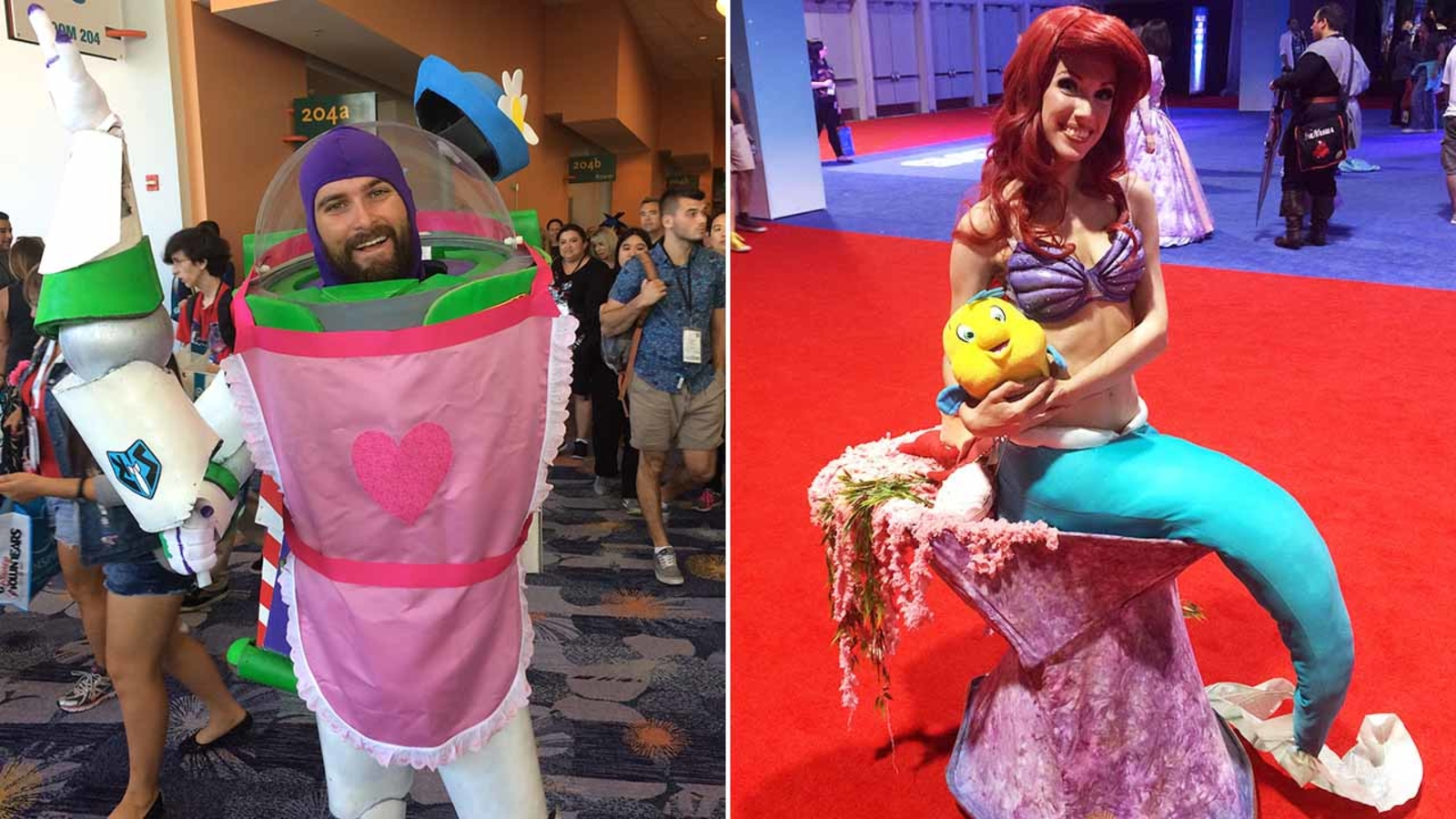 Disney cosplay fans do their best character impressions ...