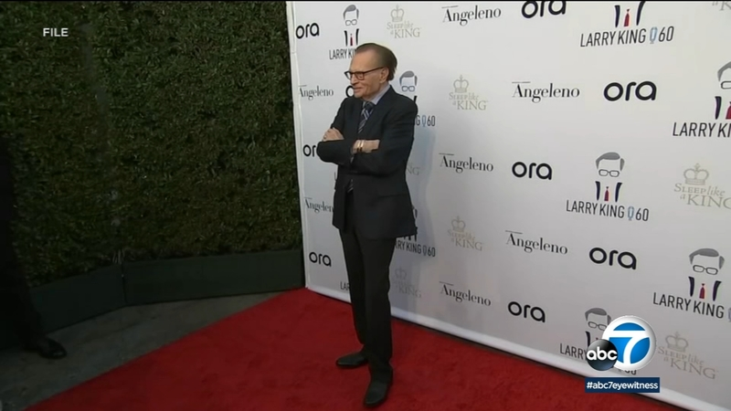 Larry King Moved Out Of Icu After Being Hospitalized In Los Angeles With Covid 19 Abc7 New York