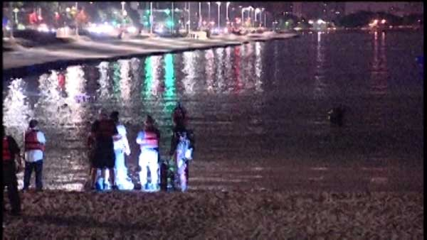 Police are searching Lake Michigan for a missing swimmer. Officials said a 24-year-old man was last seen swimming near Ohio Street Beach around 11 p.m. Sunday.