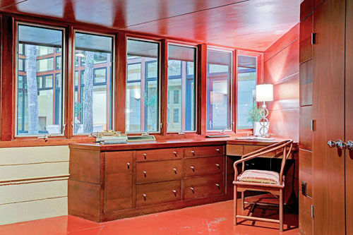 "<div class=""meta image-caption""><div class=""origin-logo origin-image none""><span>none</span></div><span class=""caption-text"">Architect Frank Lloyd Wright's home is considered an artistic masterpiece with his signature elements and it could be yours for $3 million. (PHOTO/TK Images)</span></div>"