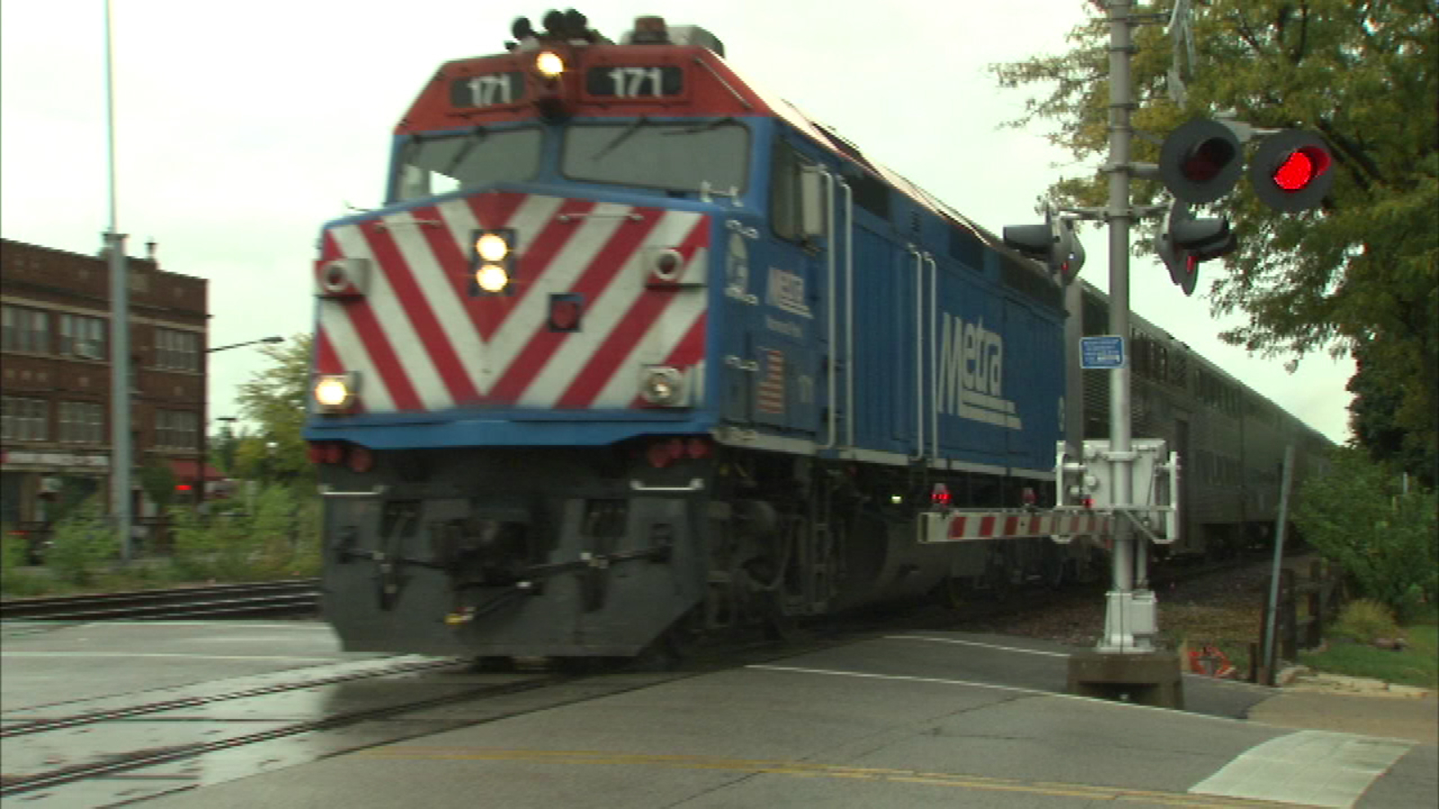Metra Electric trains stopping in Riverdale after truck hits bridge