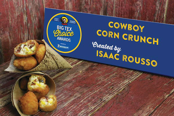 "<div class=""meta image-caption""><div class=""origin-logo origin-image none""><span>none</span></div><span class=""caption-text"">Cowboy Corn Crunch by Isaac Rousso (State Fair of Texas)</span></div>"