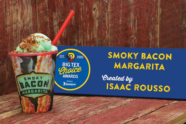 <div class='meta'><div class='origin-logo' data-origin='none'></div><span class='caption-text' data-credit='State Fair of Texas'>Smoky Bacon Margarita by Isaac Rousso</span></div>