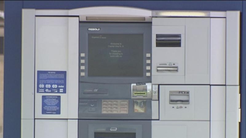 ATM skimming scam