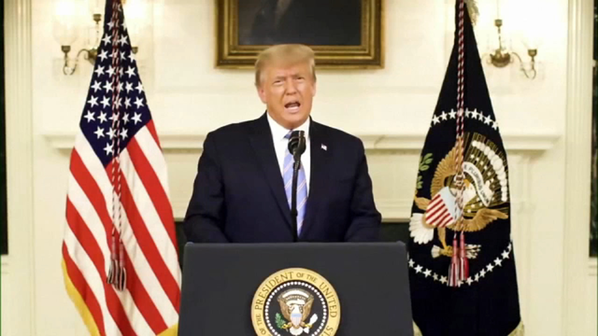 President Trump says his term is ending, transition with Joe Biden will be  orderly following riot on Capitol in Washington, D.C. - ABC7 Los Angeles